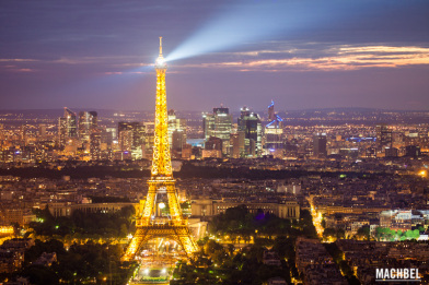 Los mejores miradores de París Francia by machbel