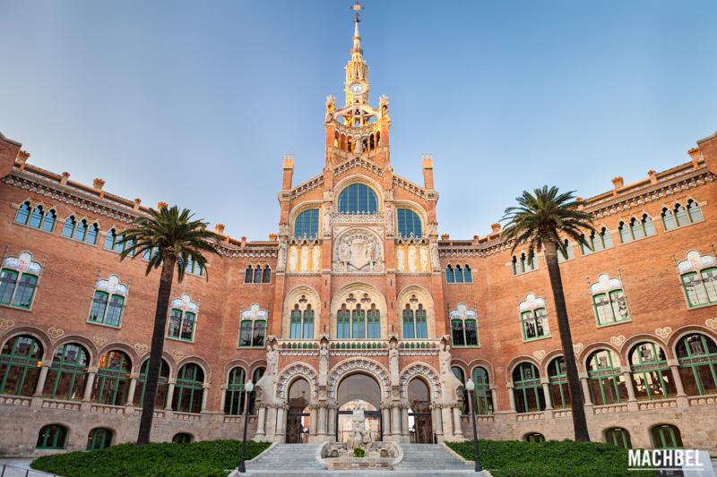 Hospital de Sant Pau, el mayor recinto modernista del mundo está en  Barcelona - machbel