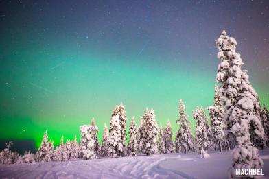 Rovaniemi en invierno Finlandia by machbel