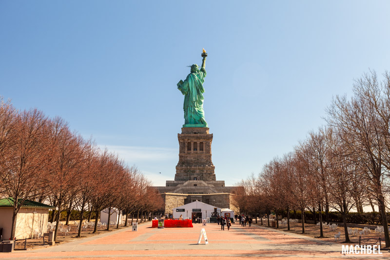 Estatua de la Libertad - Liberty Statue en Nueva York Estados Unidos by machbel