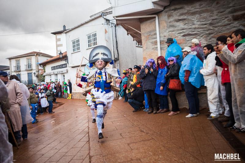 Laza, el carnaval de Galicia donde llueven hormigas