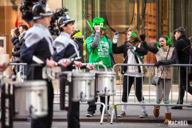 Desfile de St Patrick en Nueva York, Estados Unidos by machbel