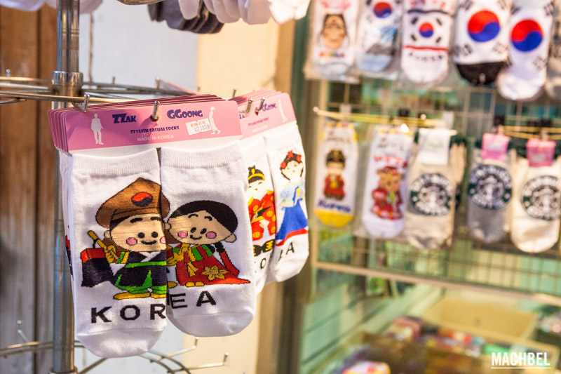 Calcetines de Korea