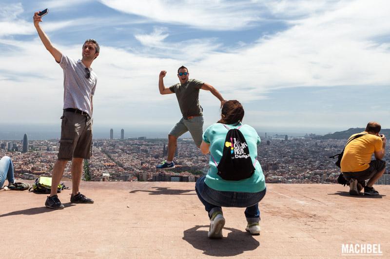 Saltando en Barcelona