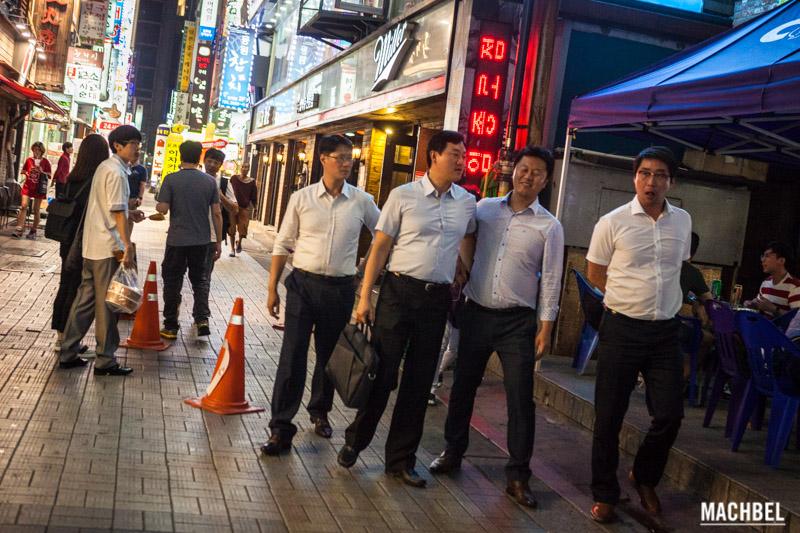 coreanos borrachos