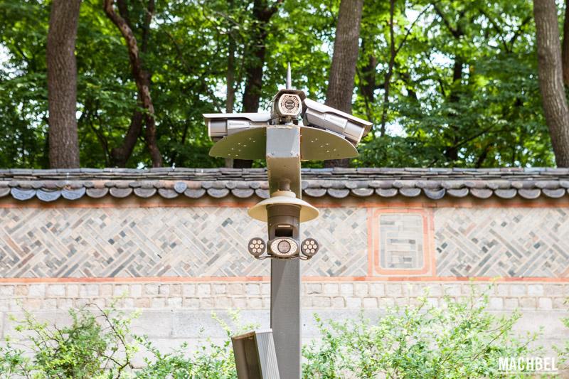 cámara de videovigilancia en Corea del Sur