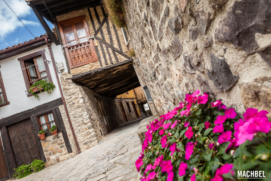 Calle de Potes medieval