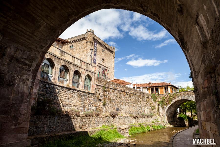 Torre del Infantado y río Deva