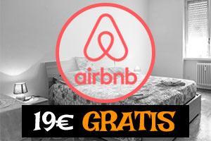 18€ gratis en AirBNB