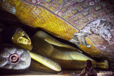 Buda y peregrina