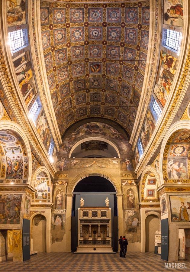 Basílica en el museo de la ciudad de Santa Giulia