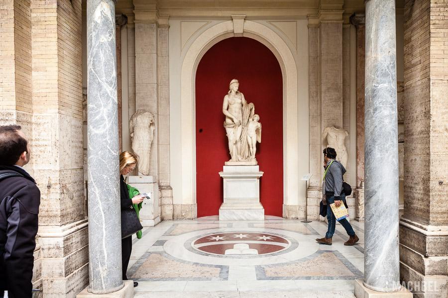 Estatua de los museos Vaticanos