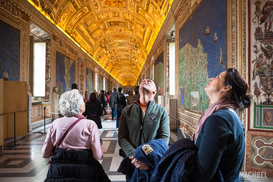 Galería de los mapas de los museos Vaticanos