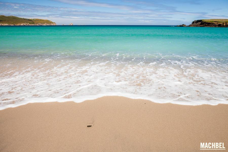 Galifornia en la playa de Santa Comba