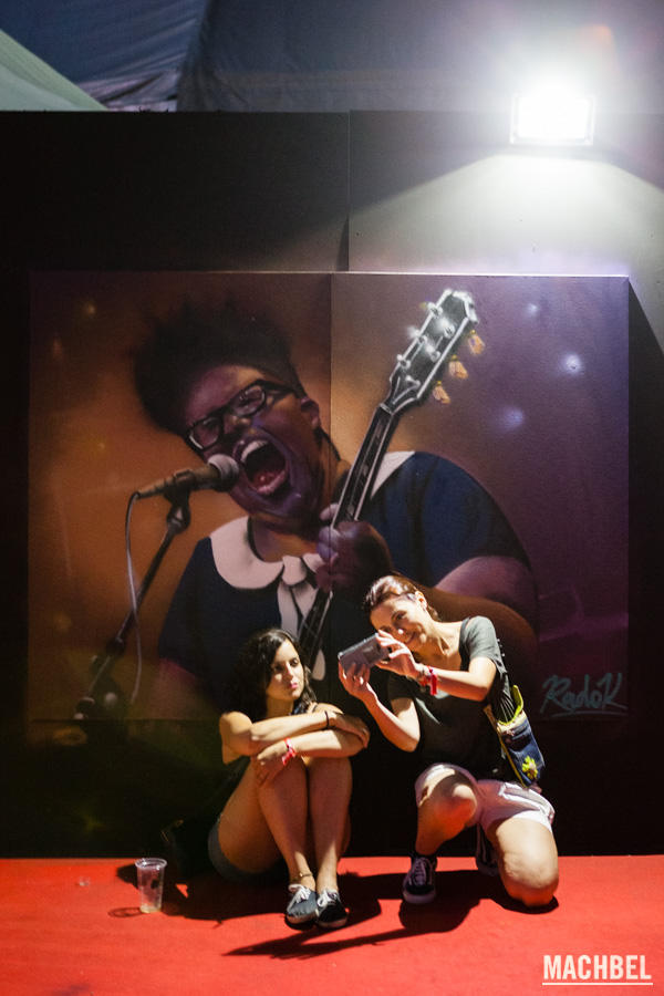 Alabama Shakes en grafiti
