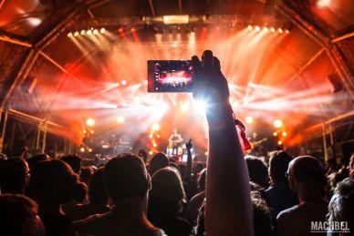 Fotografiando un concierto con el móvil