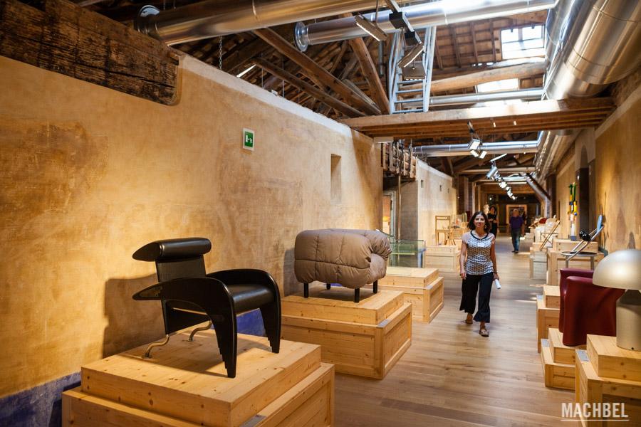 Exposición temporal de diseño industrial de la Triennale