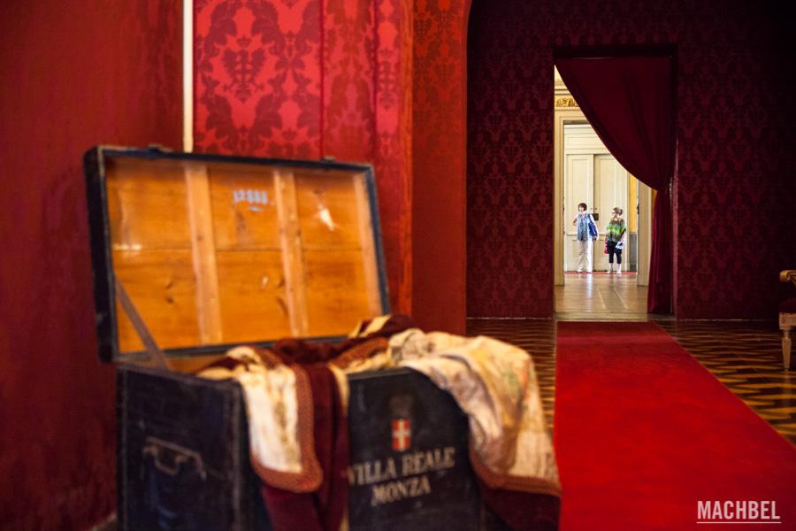 Visita a la Villa Real de Monza