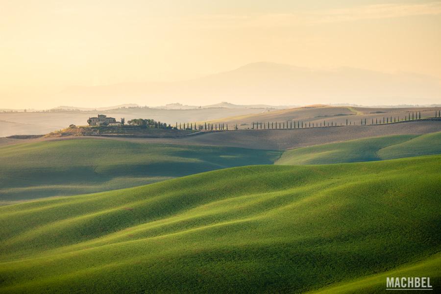 Campos de la Toscana, Italia