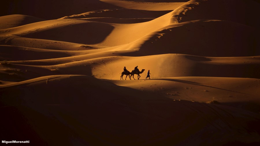 Merzouga (Marruecos). Por Miguel Morenatti
