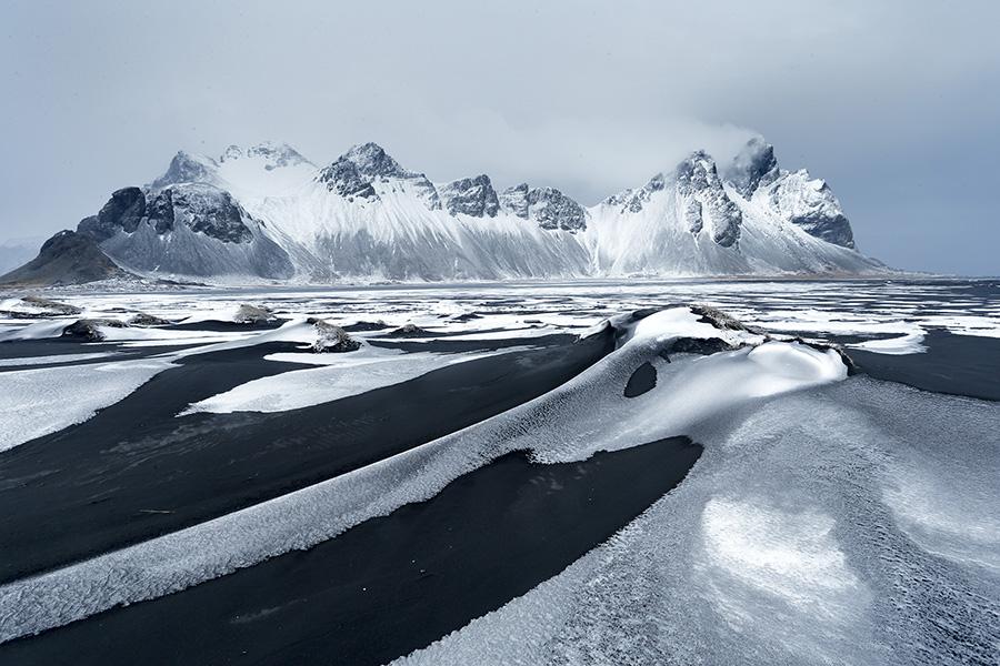 Playa de Hofn, Islandia. Por Jose B. Ruiz