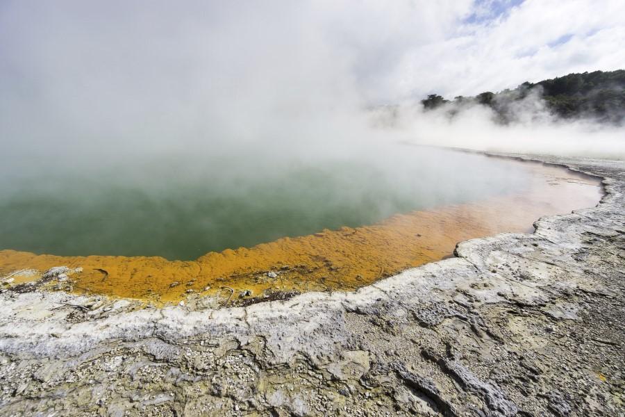 Paisaje volcánico de Rotorua