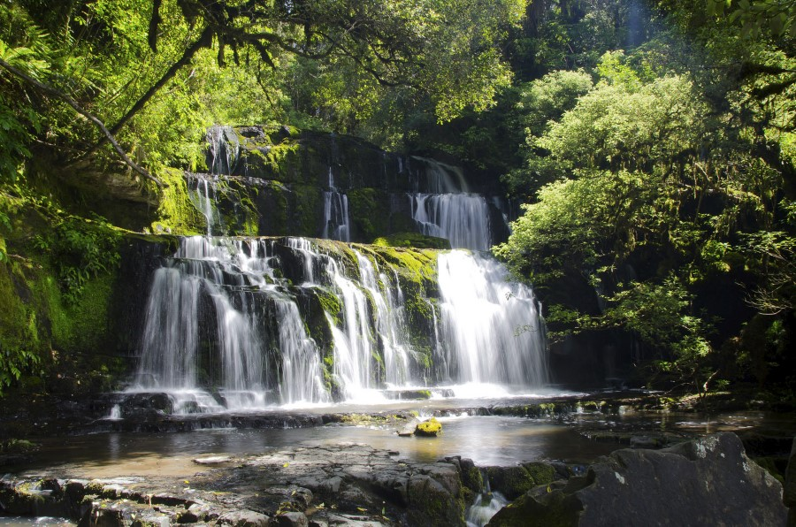 Cascada de The Catlins