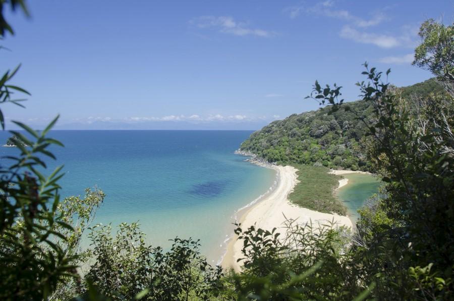 Vista de la Abel Tasman Coastal Track