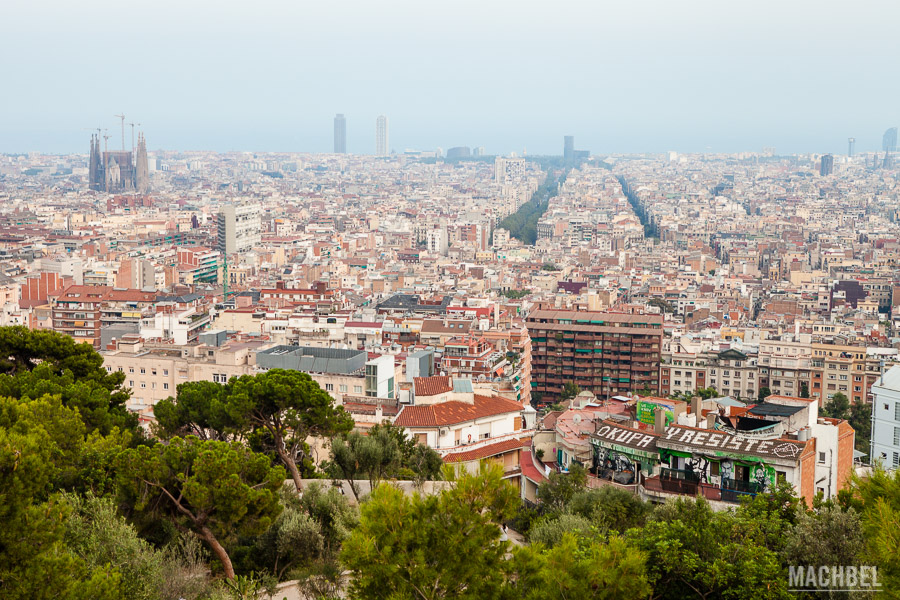 Barcelona desde el Park Güell