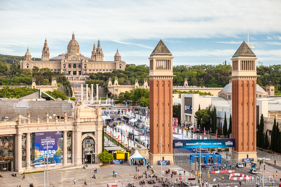 Panorámica de la Fira de Barcelona