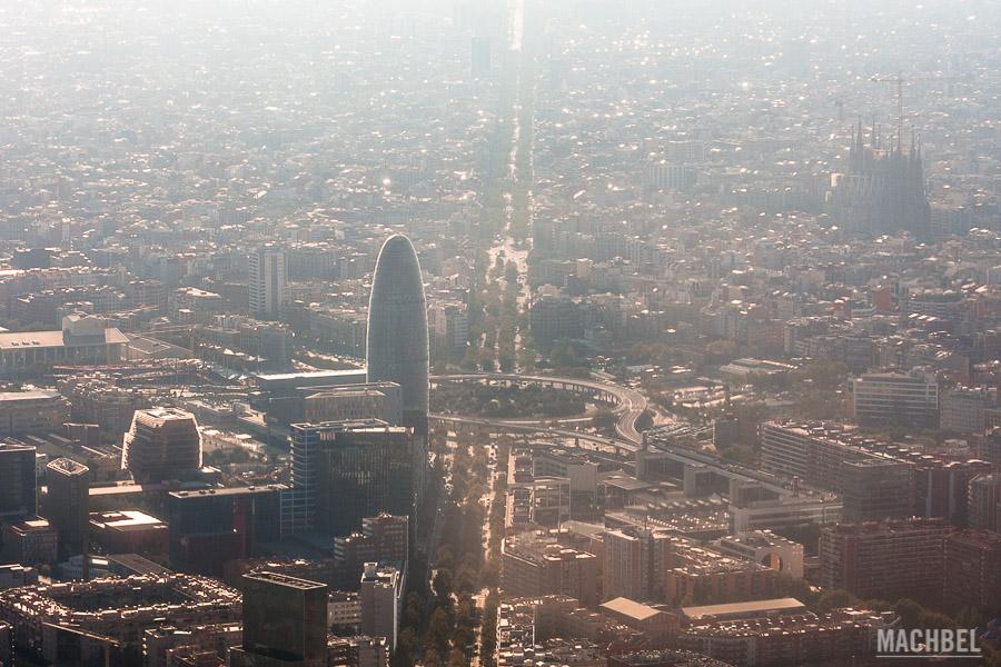 Paseo en Helicóptero sobre la ciudad de Barcelona