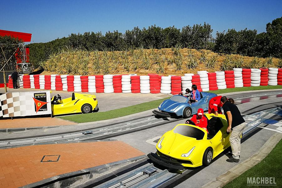 Atracción para niños Maranello Grand Race