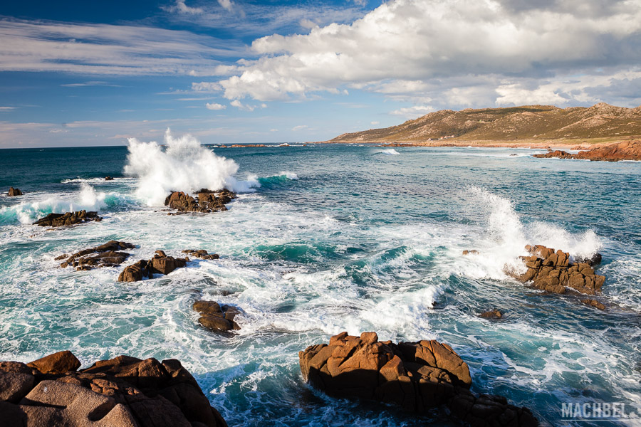 Costa en las cercanías de Cabo Vilano