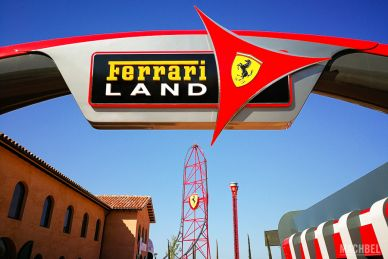 Entrada a Ferrari Land
