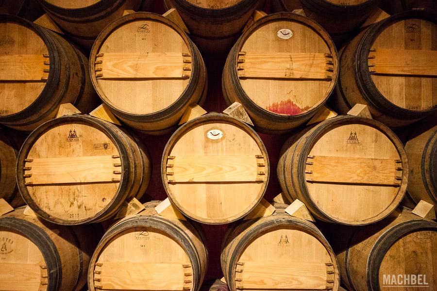 Barricas de vino Valdelana