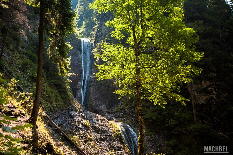 Cascada en Ceahlau