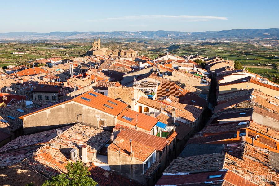 Vista aérea de Laguardia