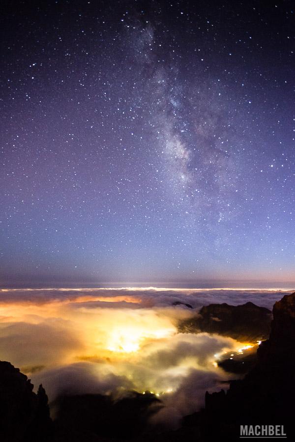 Vía Láctea sobre Gran Canaria