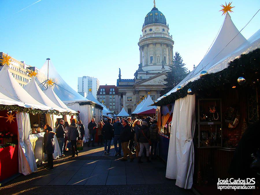 Mercado navideño de Gendarmenmarkt