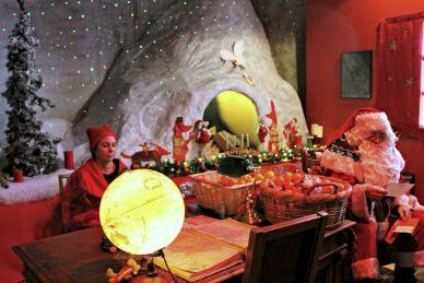 Casa de Papá Noel en Suiza