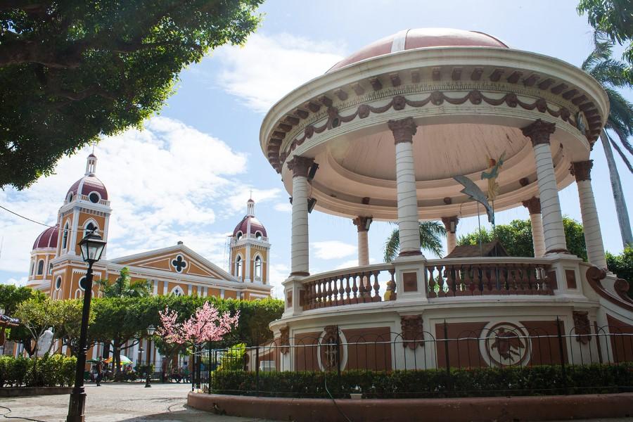 Ciudad de Granada en Nicaracua