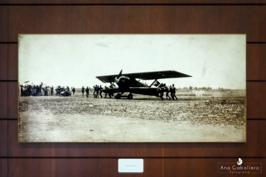 Aterrizaje del avión en Manila