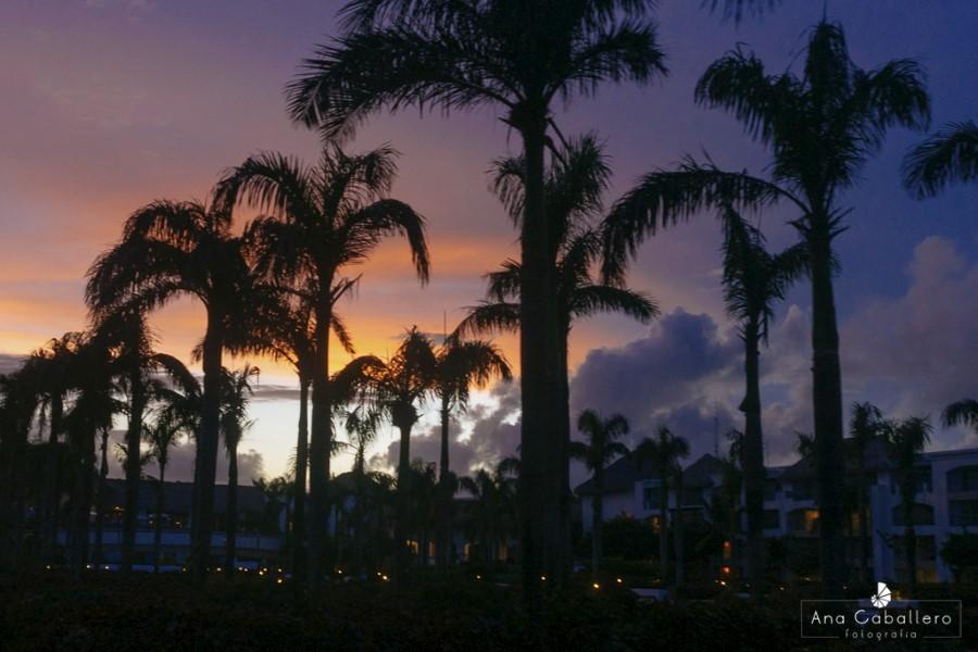 Atardecer en Punta Cana
