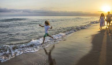 Playa en la Costa Dorada