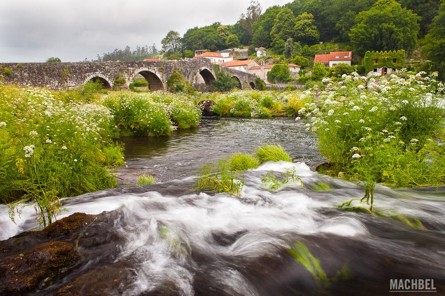Río Tambre en Puente Maceira