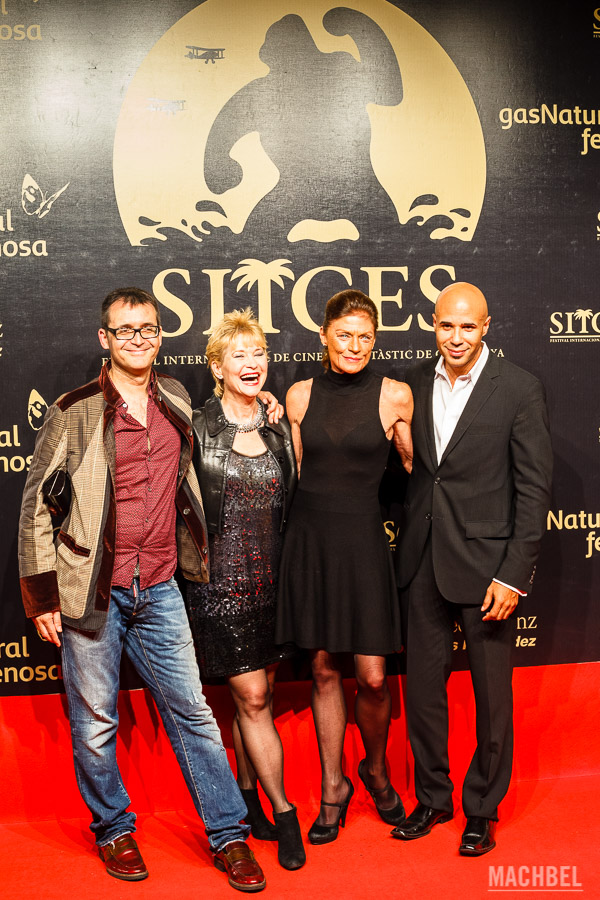 Alfombra roja en el festival de Cine de Sitges