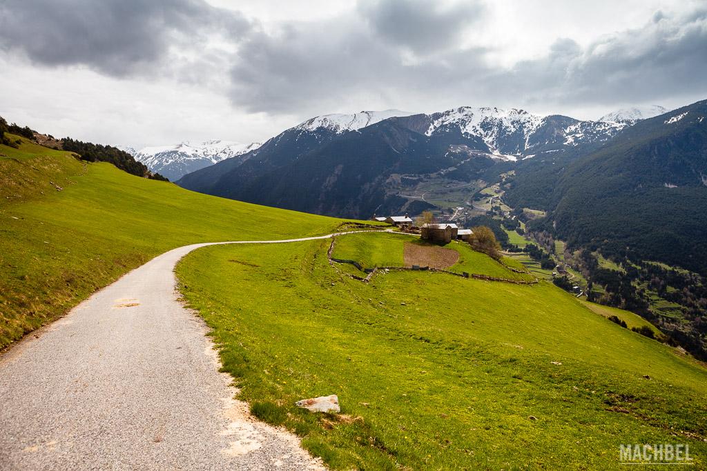 Caminos por la montaña de Andorra