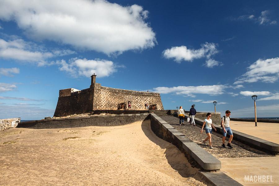 Castillo de San Gabriel en Arrecife