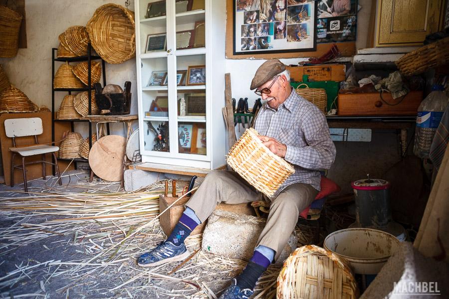 Eulogio Concepción, el último cestero de Lanzarote