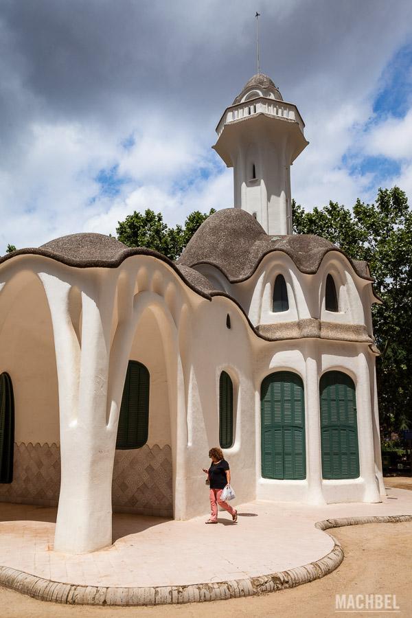 Masía Freixa, edificio modernista en Terrasa